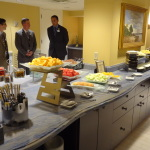 - Disney dignitaries gather for the opening of the Beach Club's new concierge lounge.